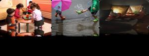 Vacaciones y lluvia