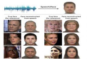 La Inteligencia Artificial es capaz de saber cómo es tu cara con solo escuchar tu voz